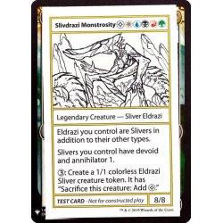 画像1: (PWマークなし)Slivdrazi Monstrosity《英語》【Mystery Booster Playtest Cards】