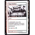 (PWマークなし)Taiga Stadium《英語》【Mystery Booster Playtest Cards】
